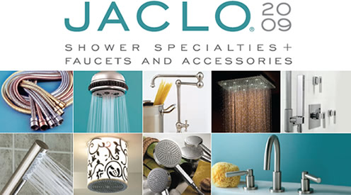 Jaclo shower specialties, decorative faucets and plumbing accessories.