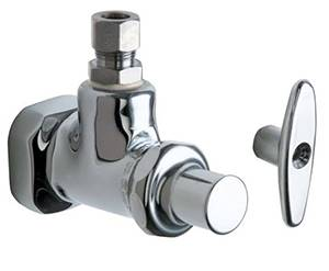 Chicago Faucets - 1012-CP - Angle Stop