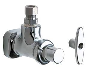 Chicago Faucets - 1013-CP - Angle Stop
