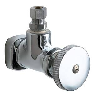 Chicago Faucets - 1015-CP - Angle Stop