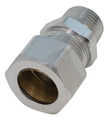 Chicago Faucets - 1022-005JKRCF - COMP FIT 5/8 Tube X 3/8 NPT