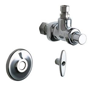 Chicago Faucets - 1025-CP - Angle Stop