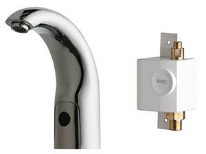 Chicago Faucets 116.932.AB.1 - HyTronic Traditional Sink Faucet with Dual Beam Infrared Sensor