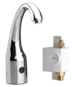 Chicago Faucets 116.939.AB.1 - HyTronic Curve Sink Faucet with Dual Beam Infrared Sensor