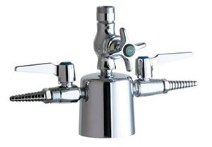 Chicago Faucets - 1301-LESABCP - Laboratory Fitting