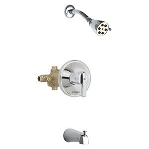 Chicago Faucets - Pressure Balance Tub/Shower Valve