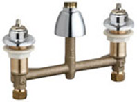 Chicago Faucets 201-A1000XKLESSSPT&HDLCP - CONCEALED KITCHEN SINK FAUCET