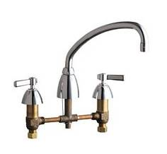 Chicago Faucets - 201-A245CP - Kitchen Sink Faucet without Spray