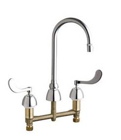 Chicago Faucets - 201-AGN2AE29-317AB - Kitchen Sink Faucet without Spray