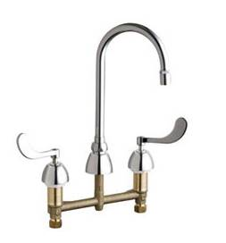 Chicago Faucets - 201-AGN2AE29-317CP - Kitchen Sink Faucet without Spray