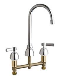 Chicago Faucets - 201-AGN2AE3CP - Kitchen Sink Faucet without Spray