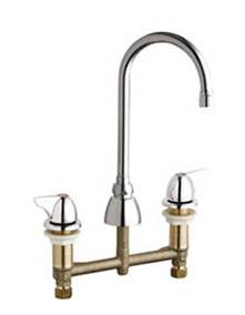 Chicago Faucets 201-AGN2AE3VPA1000AB - CONCEALED KITCHEN SINK FAUCET