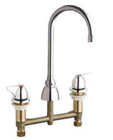 Chicago Faucets 201-AGN2AE3VPA1000CP - CONCEALED KITCHEN SINK FAUCET