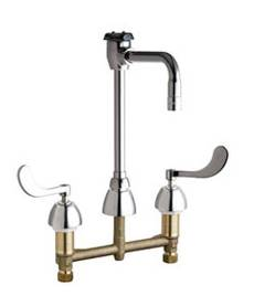 Chicago Faucets - 201-AGN2BVBE3-2-317CP - Service Sink Faucet