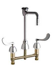 Chicago Faucets - 201-AGN2BVBE7-317CP - Service Sink Faucet