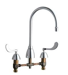 Chicago Faucets - 201-AGN8AE29-317ABCP - ECAST™ KITCHEN SINK FAUCET