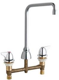 Chicago Faucets 201-AHA8VPC1000CP - CONCEALED KITCHEN SINK FAUCET