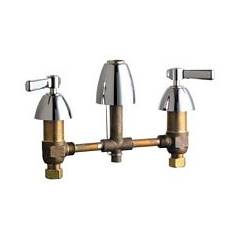 Chicago Faucets - 201-ALESSSPTCP - Kitchen Sink Faucet without Spray
