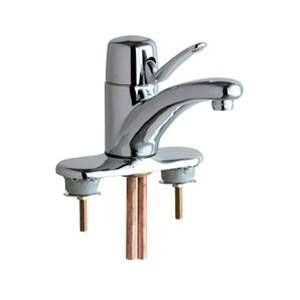 Chicago Faucets 2200-4-2300-4KCP Marathon™ Single Lever Lavatory Faucet with Extended Length Handle