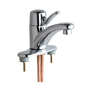 Chicago Faucets - 2200-4E2805ABCP - Marathon™ Single Lever Low Flow, Water Saving Lavatory Faucet with 0.5 GPM (1.9L/min) Vandal Resistant Aerator and Ceramic Disc Operating Cartridge