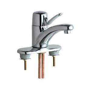 Chicago Faucets - 2200-4VPAABCP - Single Lever Lavatory Faucet