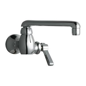 Chicago Faucets - 332-CP - Single Hole Wall Mounted Faucet