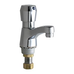 Chicago Faucets - 333-665PSHABCP - Single Water Inlet Fitting,Metering
