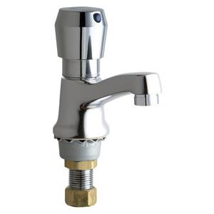 Chicago Faucets - 333-E2805-665PSHCP - Single Metering Faucet