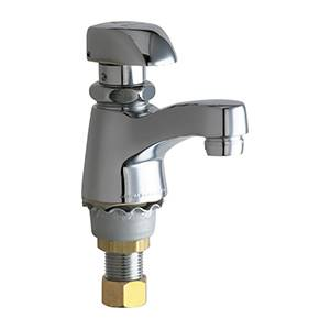 Chicago Faucets - 335-E12COLDABCP - Single Faucet Metering