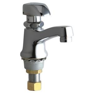 Chicago Faucets - 335-E12HOTABCP - Single Faucet Metering