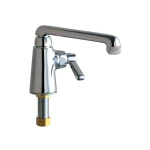 Chicago Faucets - 349-E1HOTCP - Service Sink Faucet