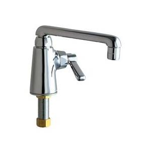 Chicago Faucets - 349-HOTABCP - Single Hole Deck Mounted Pantry/Bar Faucet