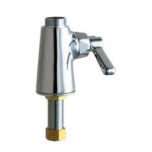 Chicago Faucets - 349-LESSSPTXKCP - Single Hole Deck Mounted Pantry/Bar Faucet