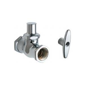 Chicago Faucets - 375-LKCP - Straight Stop