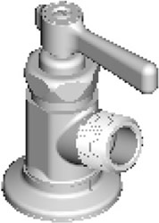 Chicago Faucets - 387-369COLD244CP - Hose Bibb