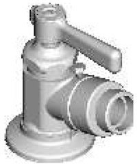 Chicago Faucets - 387-E27-369COLDCP - Hose Bibb