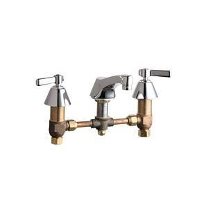Chicago Faucets - 403-369CP - Widespread Lavatory Faucet