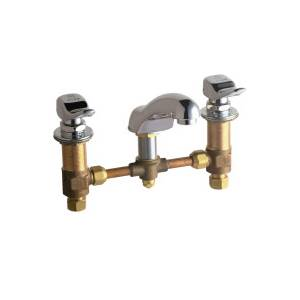 Chicago Faucets - 404-336CP - Widespread Lavatory Faucet