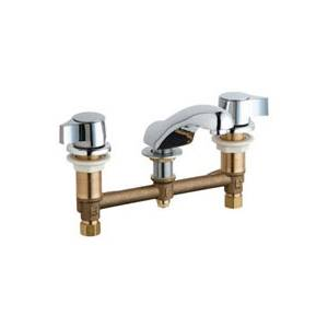Chicago Faucets - 404-636CP - Widespread Lavatory Faucet
