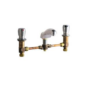 Chicago Faucets - 404-665-12CCCP - Widespread Lavatory Faucet