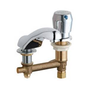 Chicago Faucets - 404-665CWCP - Widespread Lavatory Faucet