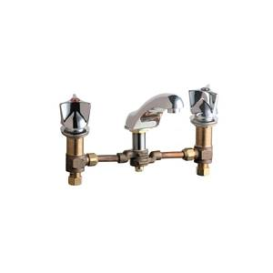Chicago Faucets - 404-950-12CCCP - Widespread Lavatory Faucet
