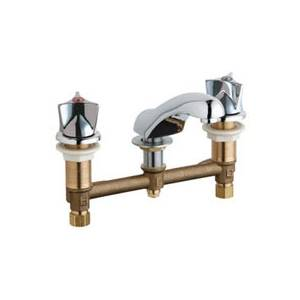 Chicago Faucets - 404-950CP - Widespread Lavatory Faucet
