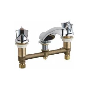 Chicago Faucets - 404-950XKABCP - Widespread Lavatory Faucet