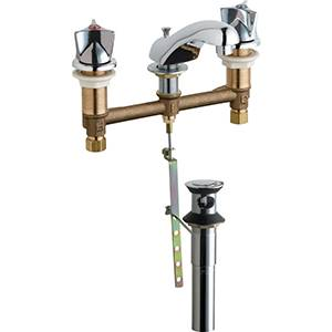 Chicago Faucets 404-V950POCP - LAVATORY FAUCET