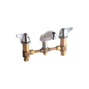 Chicago Faucets - 404-VE2805-1000CP - Widespread Lavatory Faucet