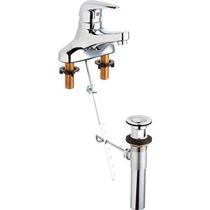 Chicago Faucets 420-POMPCP - SINGLE LEVER LAVATORY FAUCET