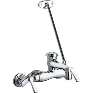 Chicago Faucets - 445-897SRCXKCP - Wall Mounted Service Faucet