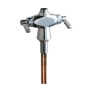 Chicago Faucets - 50-LESSSPTXKCP - Single Hole Deck Mounted Faucet