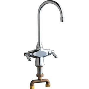 Chicago Faucets - 50-TGN8AE3CP - Single Hole Deck Mounted Faucet